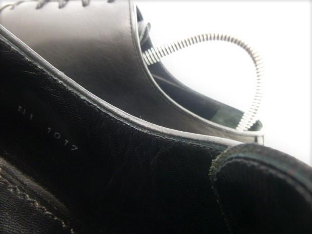 ★本物保証★ルイ・ヴィトン★メンズ/ビジネス/ドレス/ストレートチップ/シューズ/靴/革靴/くつ/黒/ブラック/26~26.5㎝☆★美品★☆_偽物注意!シリアル番号を確認しましょう。