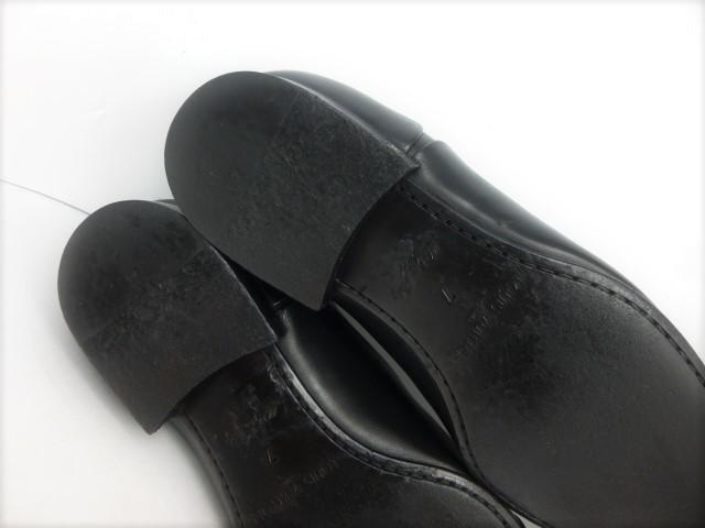 ★本物保証★ルイ・ヴィトン★メンズ/ビジネス/ドレス/ストレートチップ/シューズ/靴/革靴/くつ/黒/ブラック/26~26.5㎝☆★美品★☆_大切に着用された綺麗なソール状態です。
