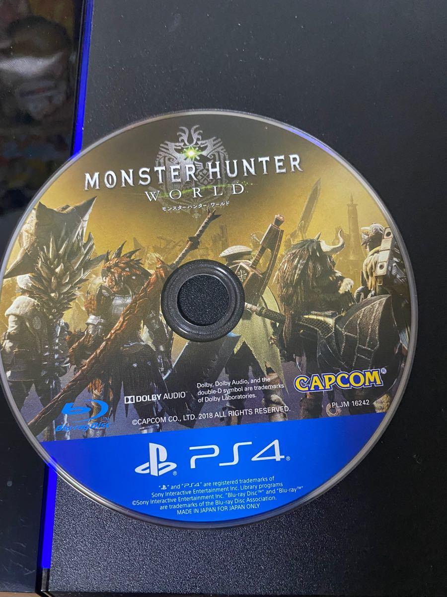 PlayStation4&モンスターハンターワールド(ダウンロード版アイスボーン付き)