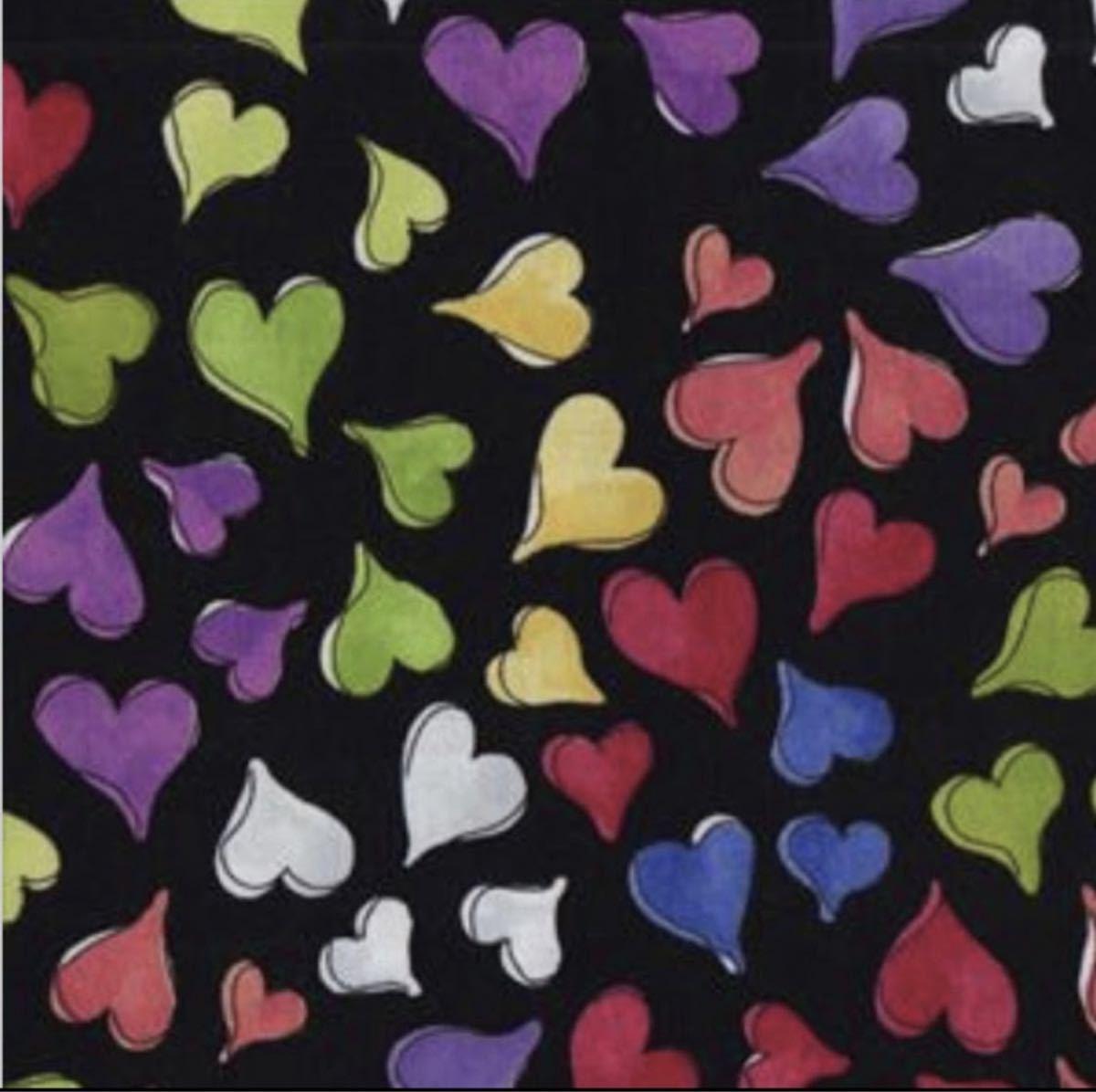 ロラライハリス Happy Hearts 黒