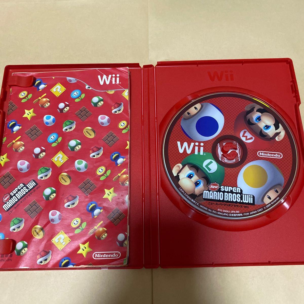 NewスーパーマリオブラザーズWiiとWiiであそぶ マリオテニスGC Wii