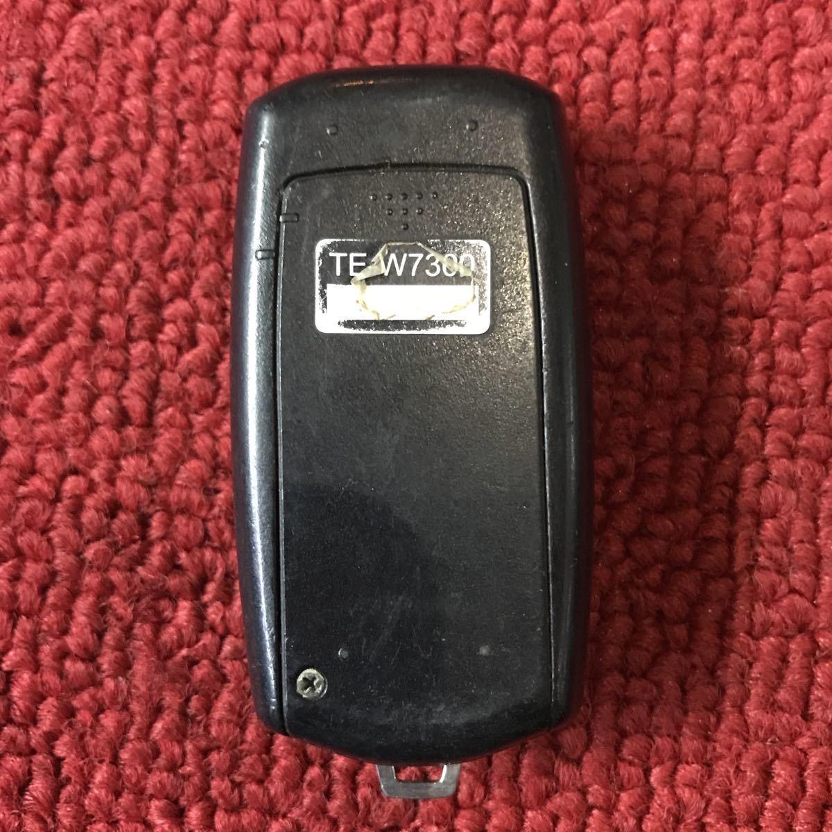 カーメイト TE-W7300 エンジンスターター リモコン 作動未チェック RR494_画像2