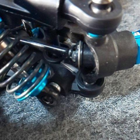 タミヤTA08PROオプション付きタミヤタイヤセット