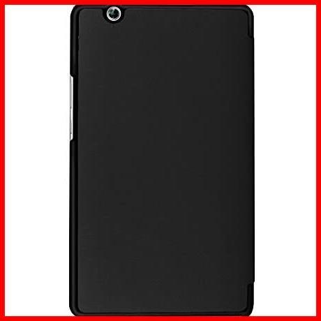 ★即決★MediaPad 高級PUレザー LeTrade Compact 超薄型最軽量 BAHUAK 保護ケース 傷つけ防止 d-01J 機能付き スタンド dtab 三つ折 8.4_画像3