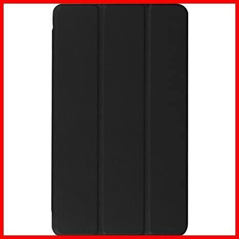 ★即決★MediaPad 高級PUレザー LeTrade Compact 超薄型最軽量 BAHUAK 保護ケース 傷つけ防止 d-01J 機能付き スタンド dtab 三つ折 8.4_画像2
