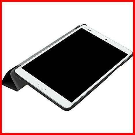 ★即決★MediaPad 高級PUレザー LeTrade Compact 超薄型最軽量 BAHUAK 保護ケース 傷つけ防止 d-01J 機能付き スタンド dtab 三つ折 8.4_画像6