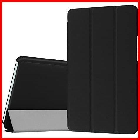 ★即決★MediaPad 高級PUレザー LeTrade Compact 超薄型最軽量 BAHUAK 保護ケース 傷つけ防止 d-01J 機能付き スタンド dtab 三つ折 8.4_画像1