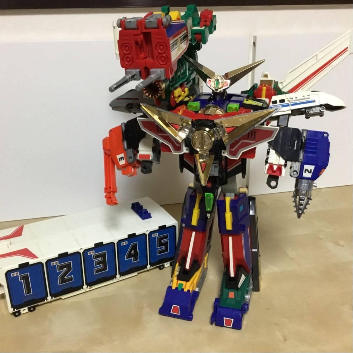 DX 勇者ロボ シリーズ グレートマイトガイン マイトカイザー 当時物 検( おもちゃ セット ロボット 勇者 スーパー戦隊 タカラ transformers