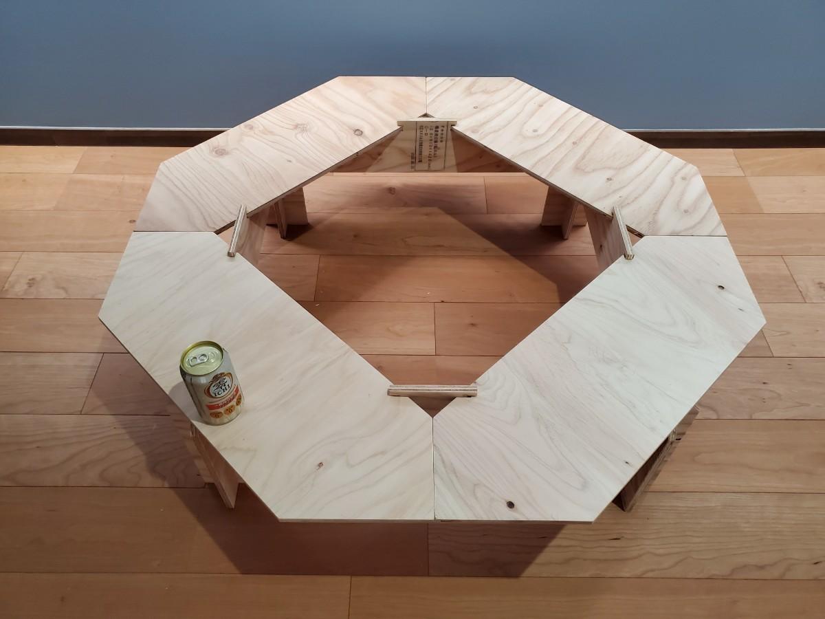 二段階高さ調整可能! 囲炉裏テーブル ジカロテーブル