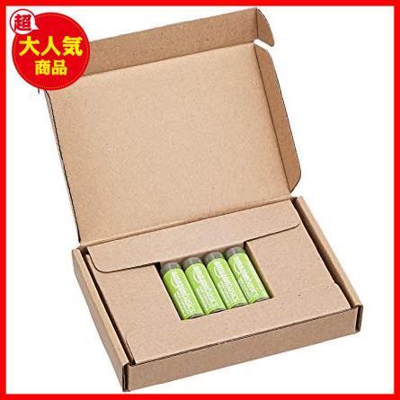 Amazonベーシック 充電池 高容量充電式ニッケル水素電池単3形4個セット (充電済み、最小容量 2400mAh、約500回使用可能)_画像4