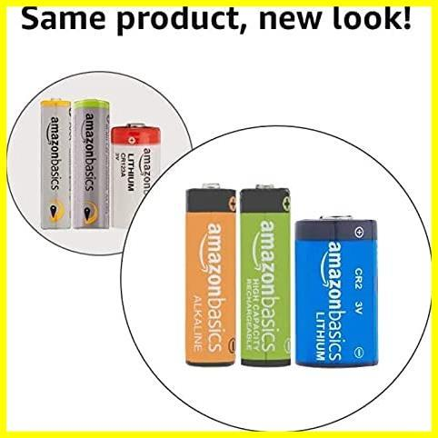 Amazonベーシック 充電池 高容量充電式ニッケル水素電池単3形4個セット (充電済み、最小容量 2400mAh、約500回使用可能)_画像6