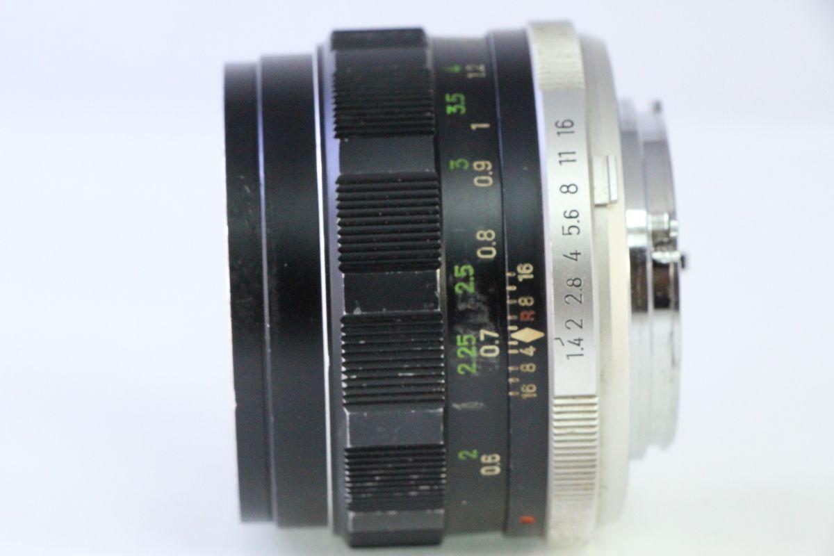 実用★ミノルタ MINOLTA MC ROKKOR-PF 58mm F1.4★くもり★2438_画像2