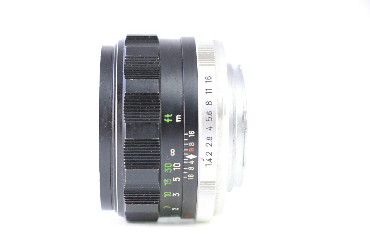 実用★ミノルタ MINOLTA MC ROKKOR-PF 58mm F1.4★薄クモリ★11555_画像2