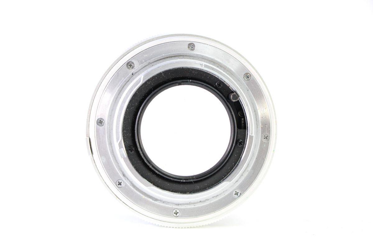 実用★ミノルタ MINOLTA MC ROKKOR-PF 58mm F1.4★薄クモリ★11555_画像3
