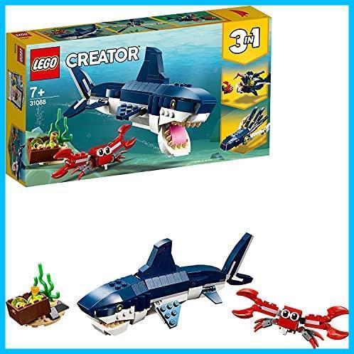 ◆新品◆レゴ(LEGO) クリエイター 深海生物 31088 知育玩具 ブロック おもちゃ 女の子 男の子_画像1