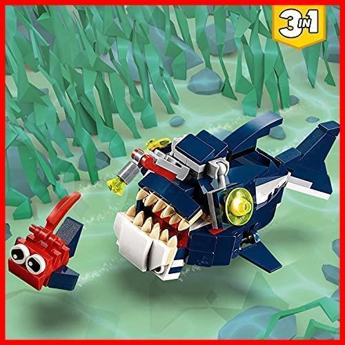◆新品◆レゴ(LEGO) クリエイター 深海生物 31088 知育玩具 ブロック おもちゃ 女の子 男の子_画像4