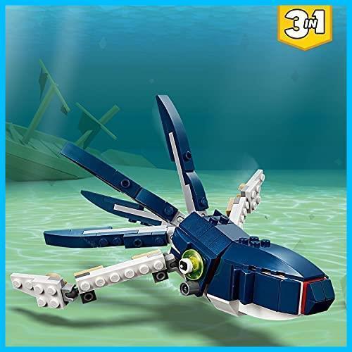◆新品◆レゴ(LEGO) クリエイター 深海生物 31088 知育玩具 ブロック おもちゃ 女の子 男の子_画像3