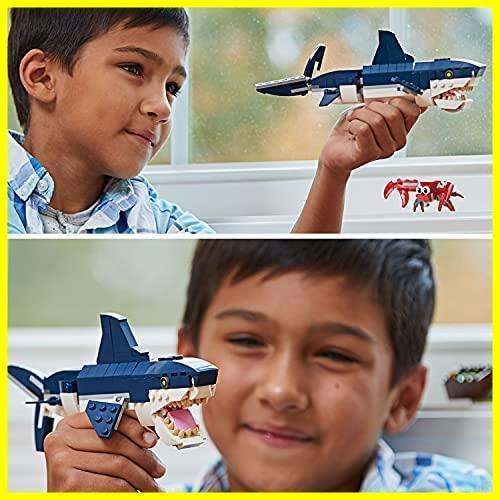 ◆新品◆レゴ(LEGO) クリエイター 深海生物 31088 知育玩具 ブロック おもちゃ 女の子 男の子_画像5