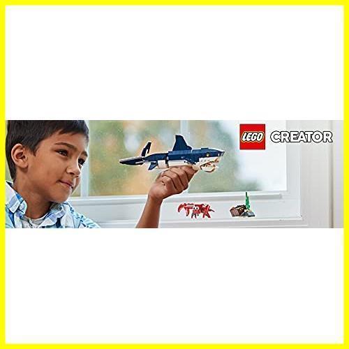 ◆新品◆レゴ(LEGO) クリエイター 深海生物 31088 知育玩具 ブロック おもちゃ 女の子 男の子_画像9