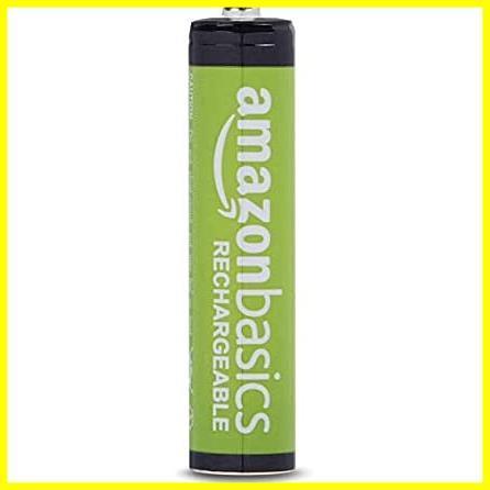 Amazonベーシック 充電池 充電式ニッケル水素電池 単4形8個セット (最小容量800mAh、約1000回使用可能)_画像2