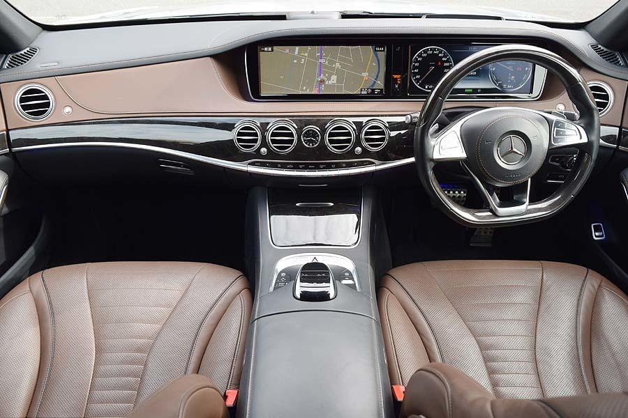 「2016年モデル 正規ディーラー記録多数有 メルセデスベンツ S300h エクスクルーシブ AMGライン イリジウムシルバー【全車輌消毒消臭済】」の画像3