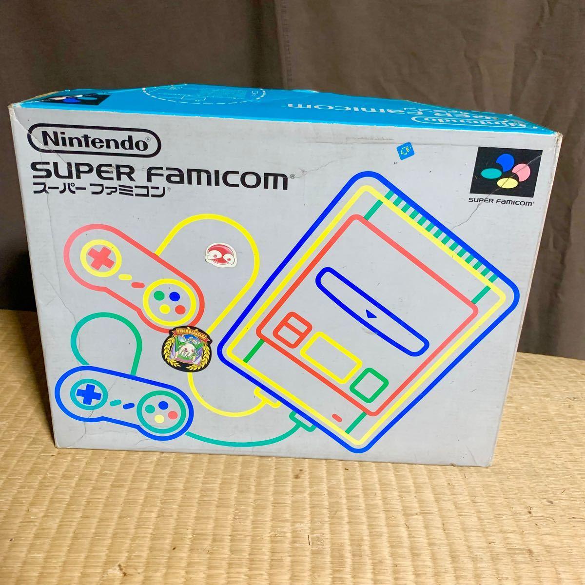 スーパーファミコン 本体 箱付き
