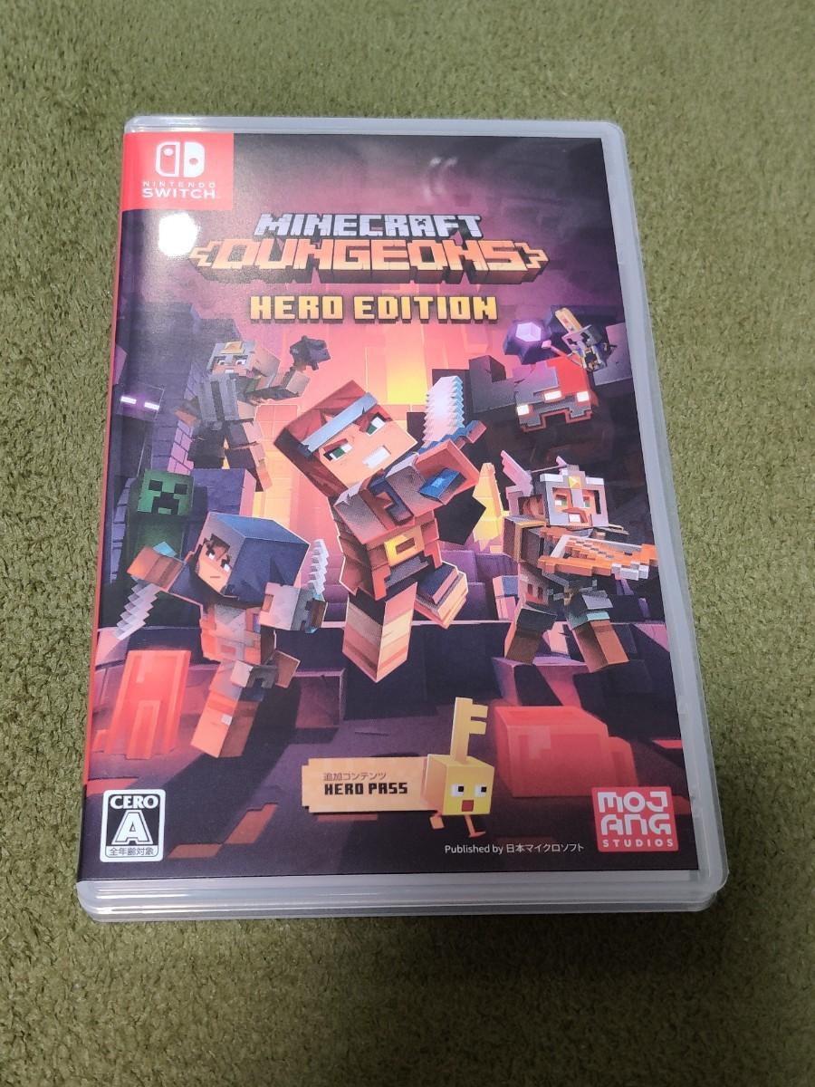 Nintendo Switch Minecraft Dungeons Hero Edition マインクラフトダンジョンズ