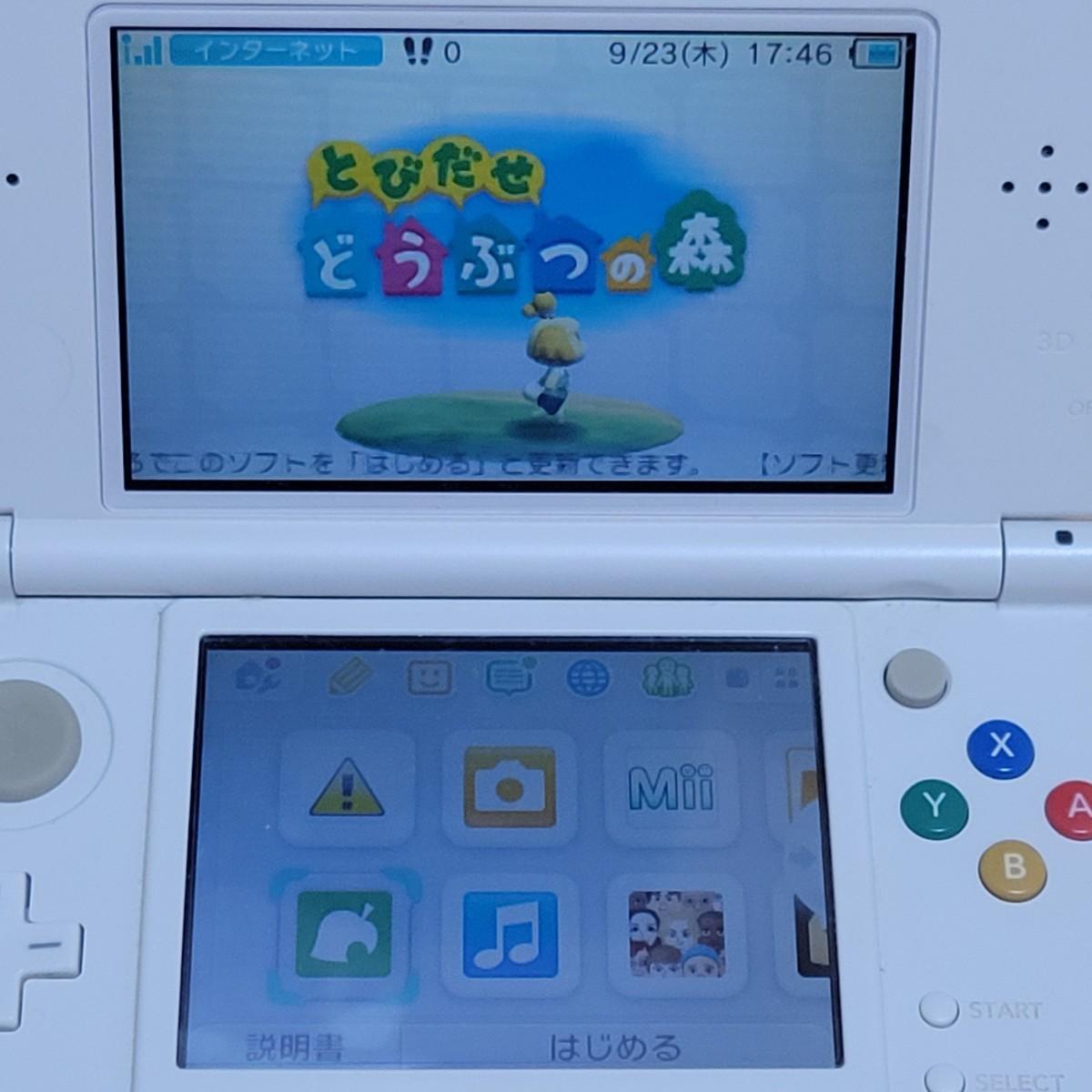 とびだせどうぶつの森  おいでよどうぶつの森  どうぶつの森  3DSソフト  DSソフト