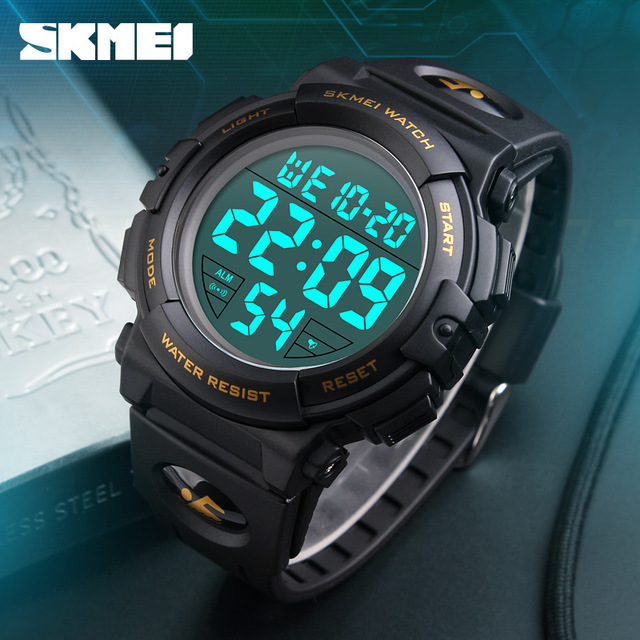 新ブランド腕時計男性スポーツアウトドアファッションデジタル腕時計多機能 50 メートル防水腕時計メンズ腕時計腕時計 Skmei_画像6