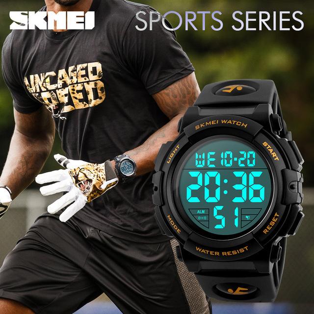新ブランド腕時計男性スポーツアウトドアファッションデジタル腕時計多機能 50 メートル防水腕時計メンズ腕時計腕時計 Skmei_画像2