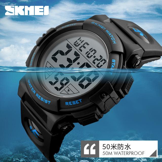 新ブランド腕時計男性スポーツアウトドアファッションデジタル腕時計多機能 50 メートル防水腕時計メンズ腕時計腕時計 Skmei_画像3