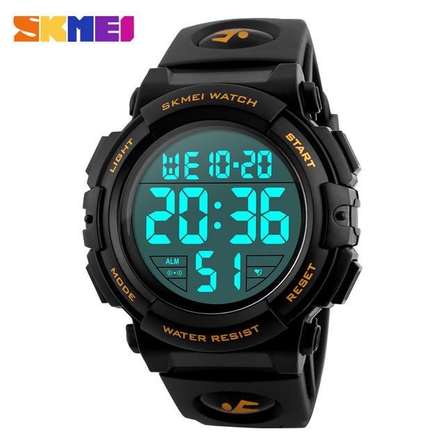 新ブランド腕時計男性スポーツアウトドアファッションデジタル腕時計多機能 50 メートル防水腕時計メンズ腕時計腕時計 Skmei_画像1