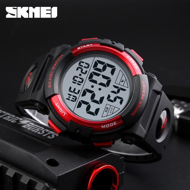新ブランド腕時計男性スポーツアウトドアファッションデジタル腕時計多機能 50 メートル防水腕時計メンズ腕時計腕時計 Skmei_画像4