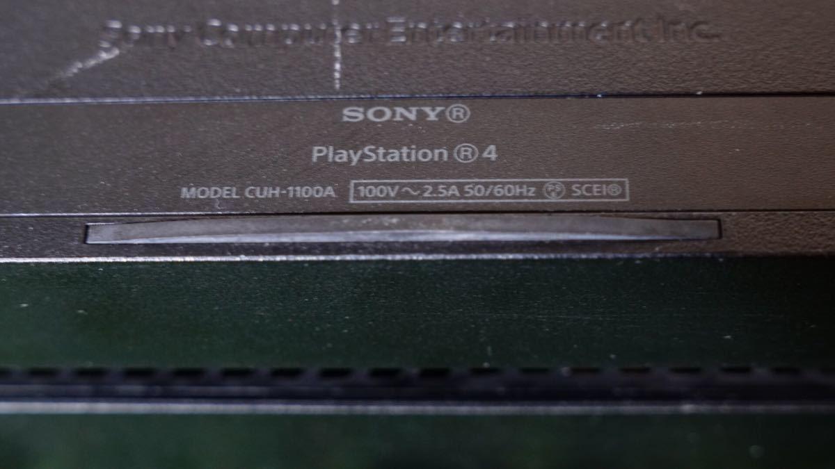 PS4本体 SONY PlayStation4 500GB 本体 電源&HDMIケーブル付き(動作確認済み)