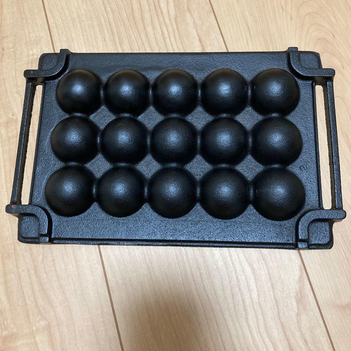 未使用 たこ焼き 鉄板 アウトドア たこ焼きプレート