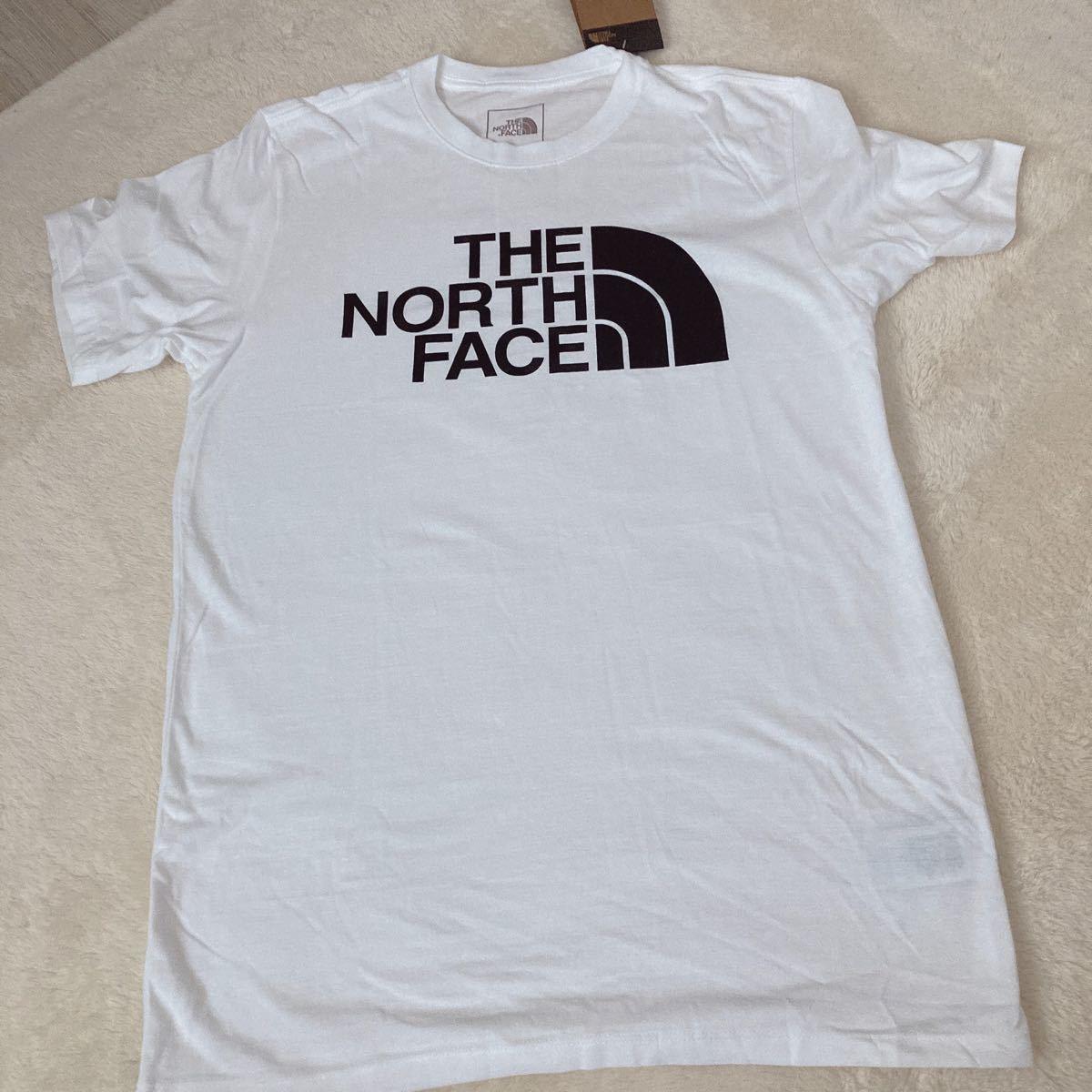 20%クーポン配布中! THE NORTH FACE ザノースフェイスハーフドームロゴプリントTシャツ 白 S 新品タグあり