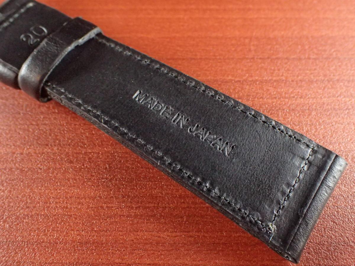 CBHC-05a ★新型★ アキュレイトフォルム ホーウィン クロムエクセル革ベルト レギュラー ブラック 16、17、18、19、20、22mm_画像6