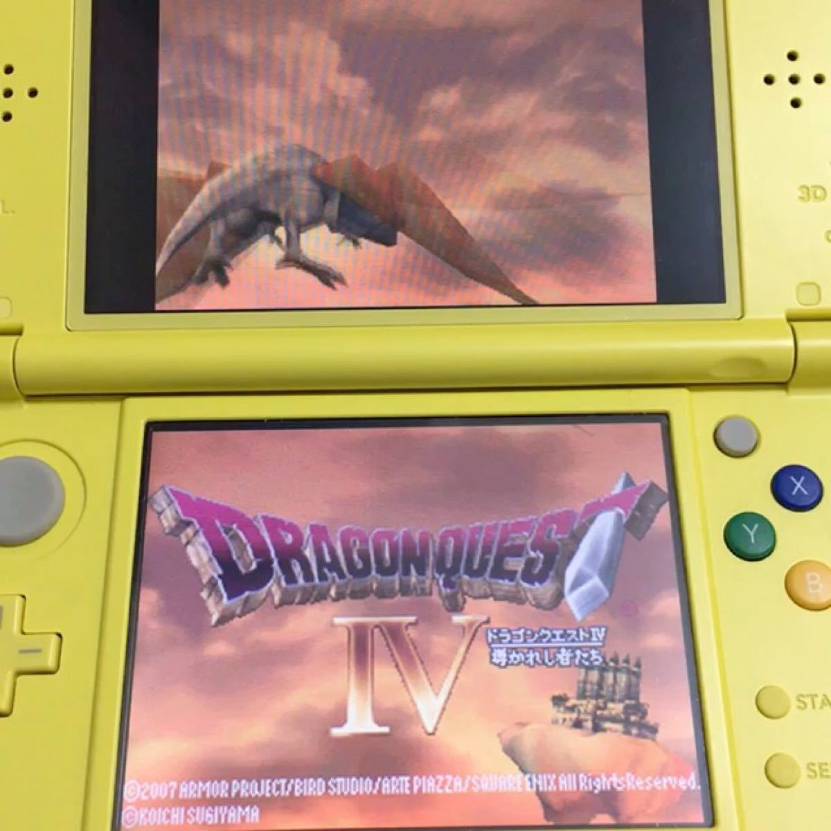 ドラゴンクエスト4 DSソフト 導かれし者たち ドラゴンクエスト ドラクエ4 ニンテンドー 任天堂 ドラクエ