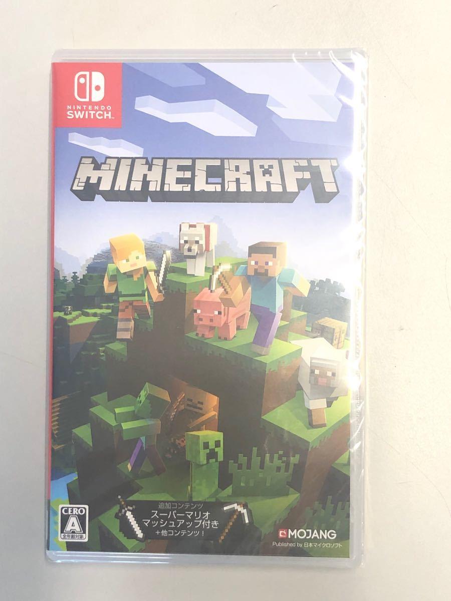 マインクラフト Minecraft Switch シュリンク付新品