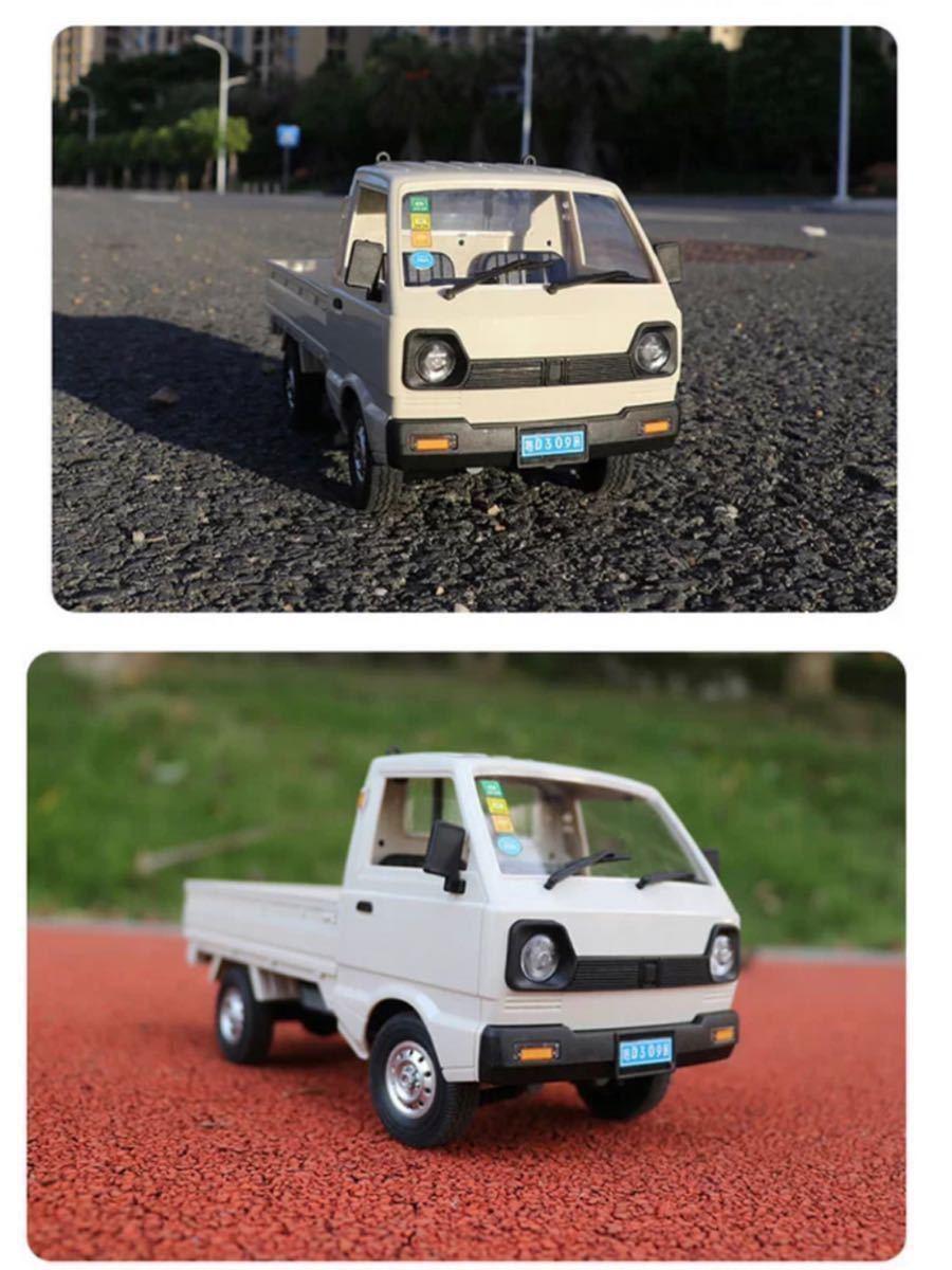 ★国内発送★新製品 CXD D12mini WPL D12ミニ版ラジコンカー 軽トラック RC 1/16 2.4G RWD RTR ドリフト スズキ キャリー SUZUKI CARRY_画像6