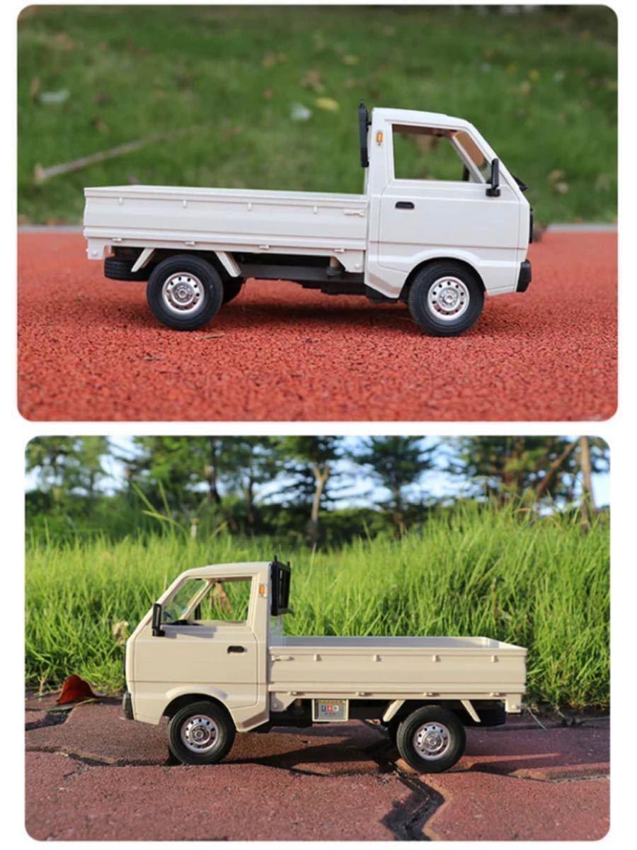 ★国内発送★新製品 CXD D12mini WPL D12ミニ版ラジコンカー 軽トラック RC 1/16 2.4G RWD RTR ドリフト スズキ キャリー SUZUKI CARRY_画像7