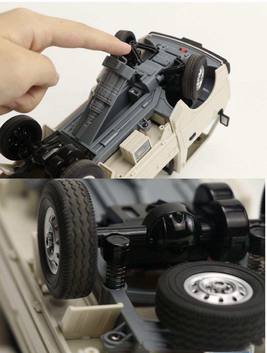 ★国内発送★新製品 CXD D12mini WPL D12ミニ版ラジコンカー 軽トラック RC 1/16 2.4G RWD RTR ドリフト スズキ キャリー SUZUKI CARRY_画像2