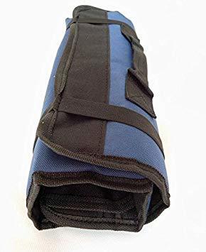 ★本日限り★紺 【Rurumi】工具 道具 収納 ツール ロール バッグ 22 ポケット ケース ポーチ 袋 (紺)_画像7