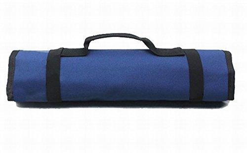 ★本日限り★紺 【Rurumi】工具 道具 収納 ツール ロール バッグ 22 ポケット ケース ポーチ 袋 (紺)_画像8