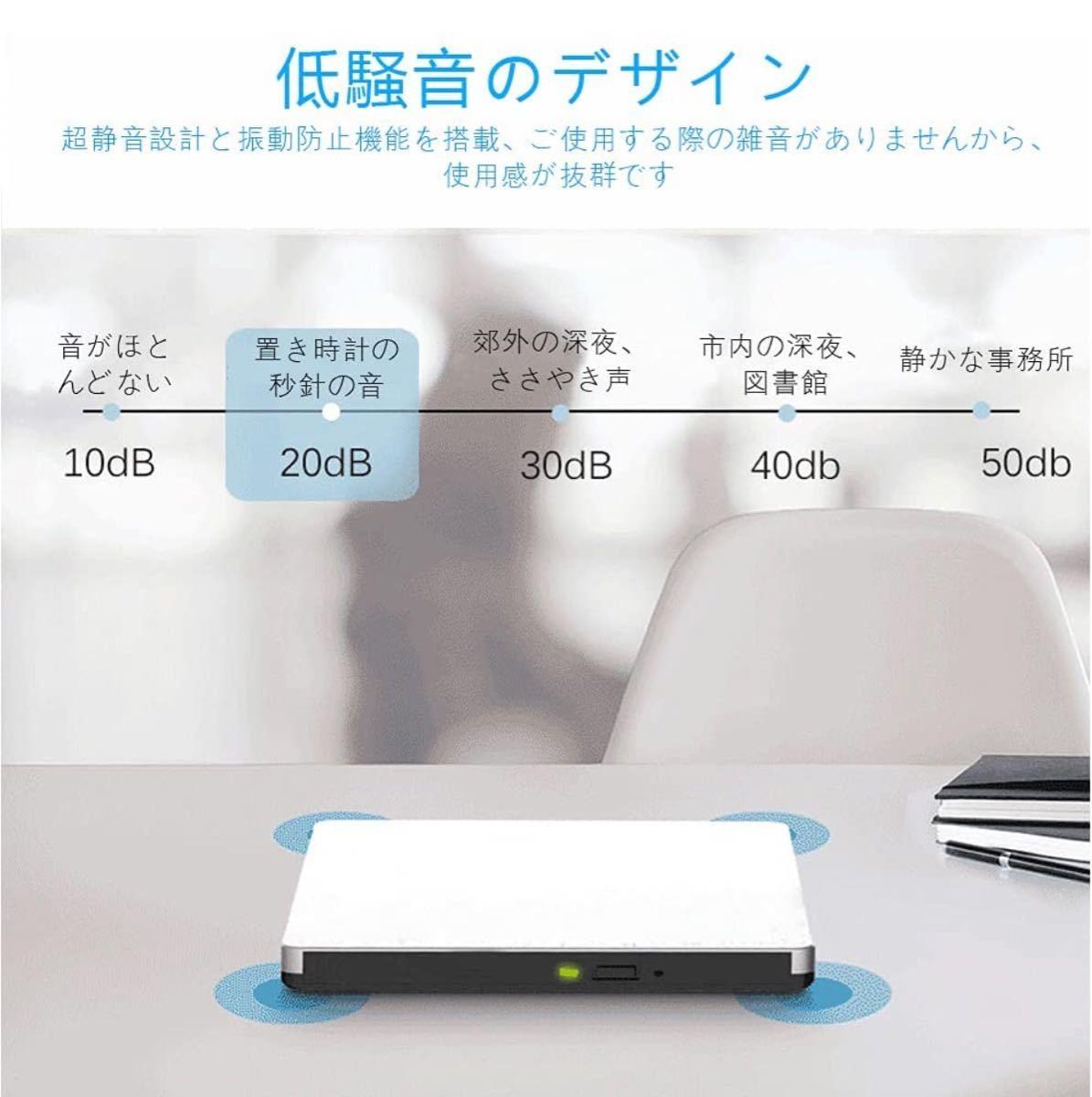 DVD・CD 再生ドライブ 再生USB 3.0ポータブル