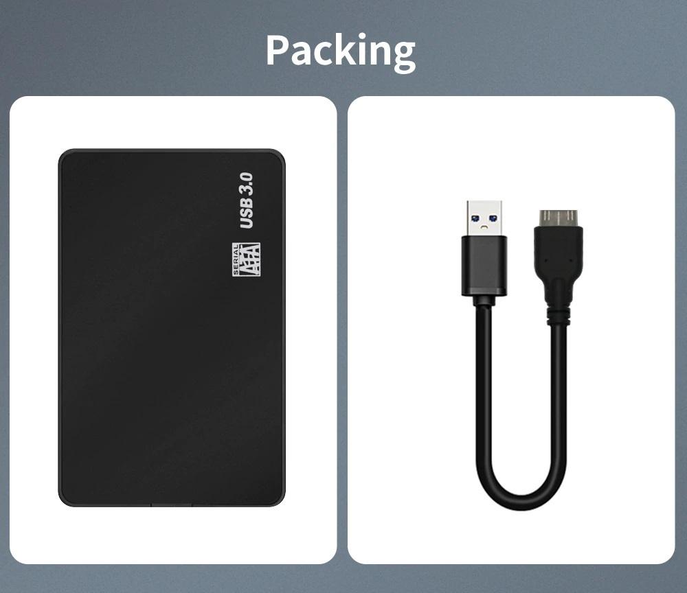 新品即決■送料無料2.5インチHDD/SSDケースUSB3.0外付け HDD UASP対応 sata3.0接続 9.5mm/7mm厚両対応ポータブルUSB SATA