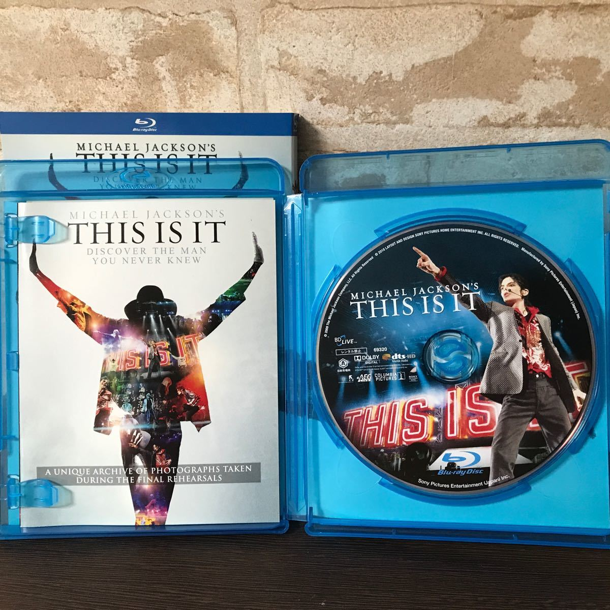 【BR】 マイケルジャクソン THIS IS IT