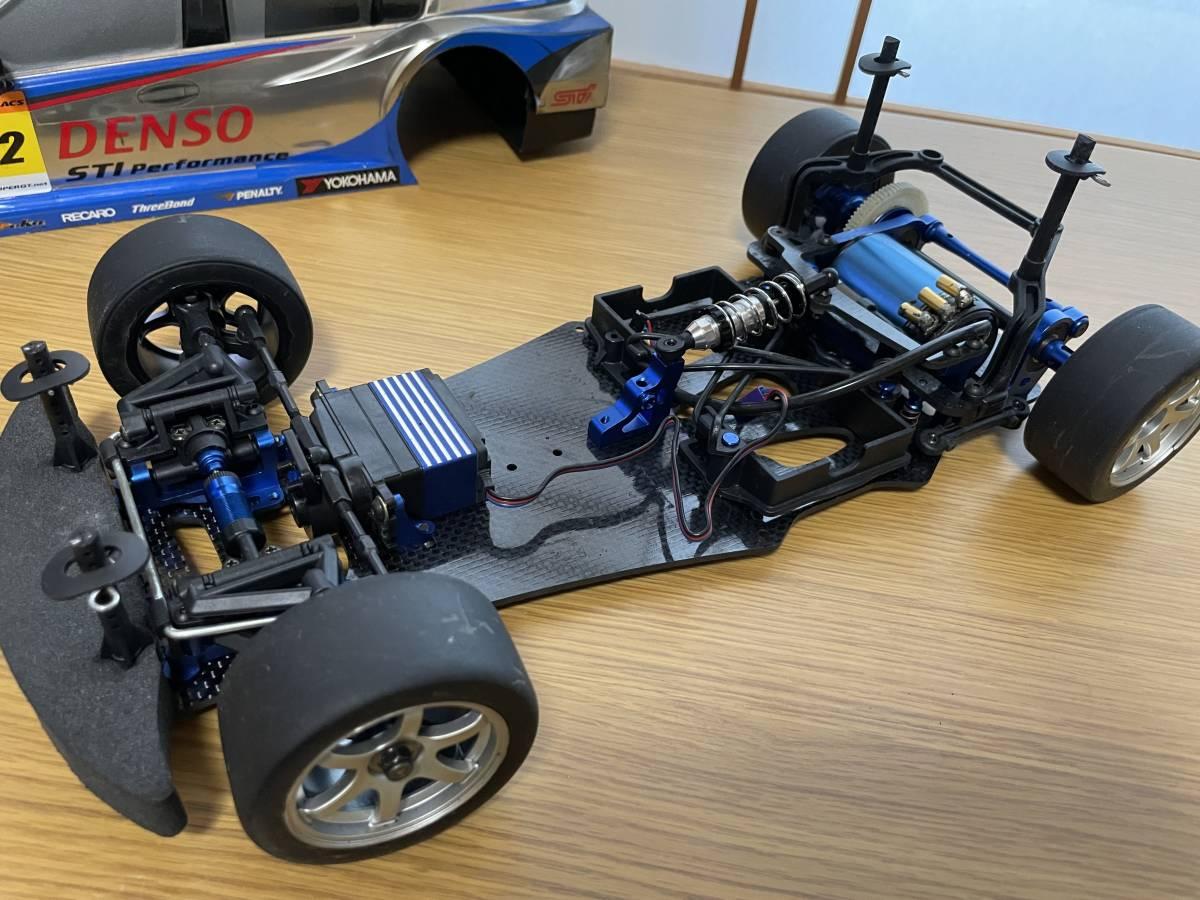 お買得 中古 美品・動作品 Yokomo GT500 ヨコモ サーボ、ブラシレスモータ、タイヤ&ホイール多数付_画像5