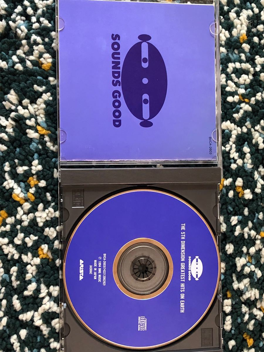 【国内盤CD】ザ・フィフス・ディメンション『ベスト・セレクション(グレイテスト・ヒッツ…)』-「アクエリアス」等収録