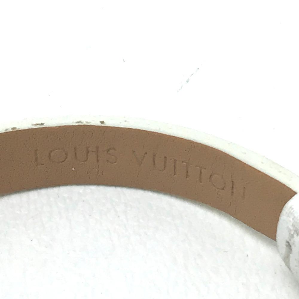 LOUIS VUITTON ルイ・ヴィトン Q151P レディース腕時計 タンブール ビジュ ラグダイヤ SS/モノグラム・ドゥスールベルト(ブロン)_画像8
